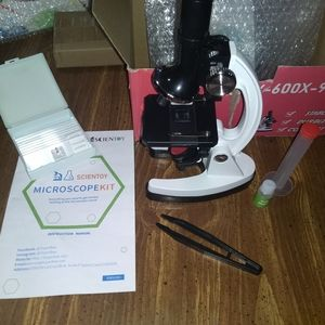 Scientoy Accessories - MICROSCOPE KIT w/ SMARTPHONE MOUNT ++ science kids